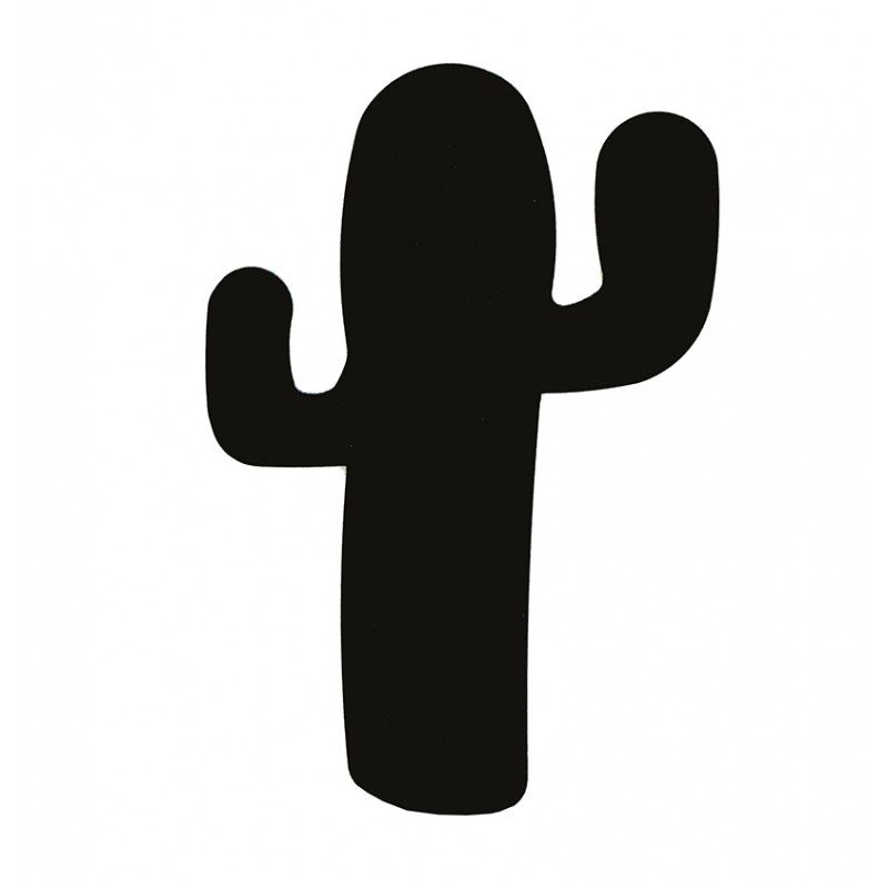 Silueta Lacada Cactus