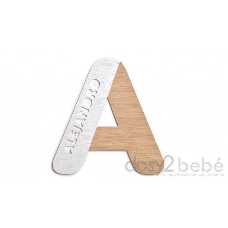 Letra Personalizada Wood
