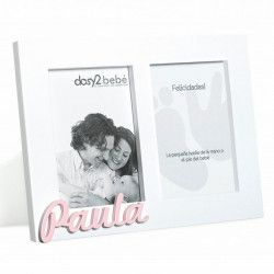 PORTAFOTOS DOBLE HUELLA PERSONALIZADO