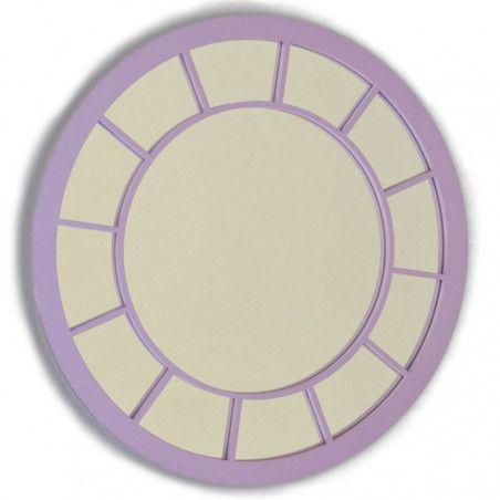 Espejo cuadrado interior cuadrado