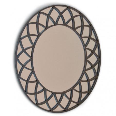 Espejo cuadrado cuarterones 16