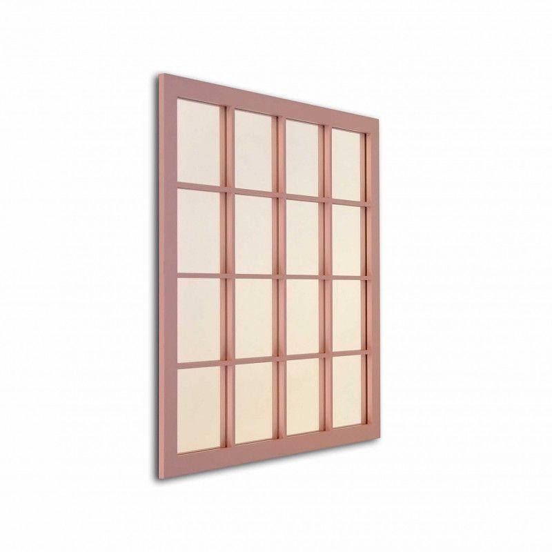 Espejo rectangular rincones celda