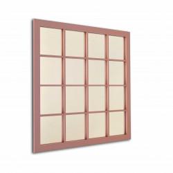 Espejo rectangular rincones cruz