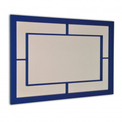 ESPEJO RECTANGULAR NAVY DECOR